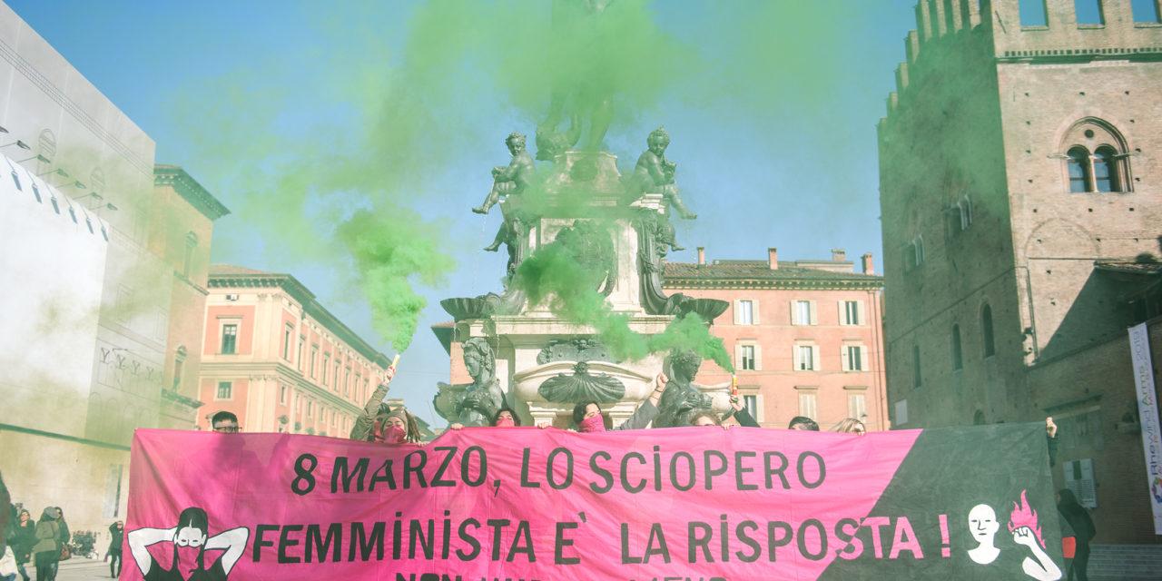 Al via il countdown verso lo sciopero internazionale delle donne l'8 marzo.