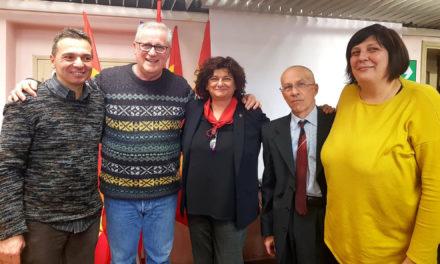 Segreteria Cgil, Collina affiancata da Lucchi e dalla Visani