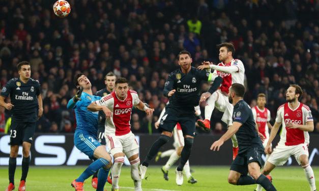 Ajax – Real Madrid: uno spettacolo per gli occhi, il cuore e la storia