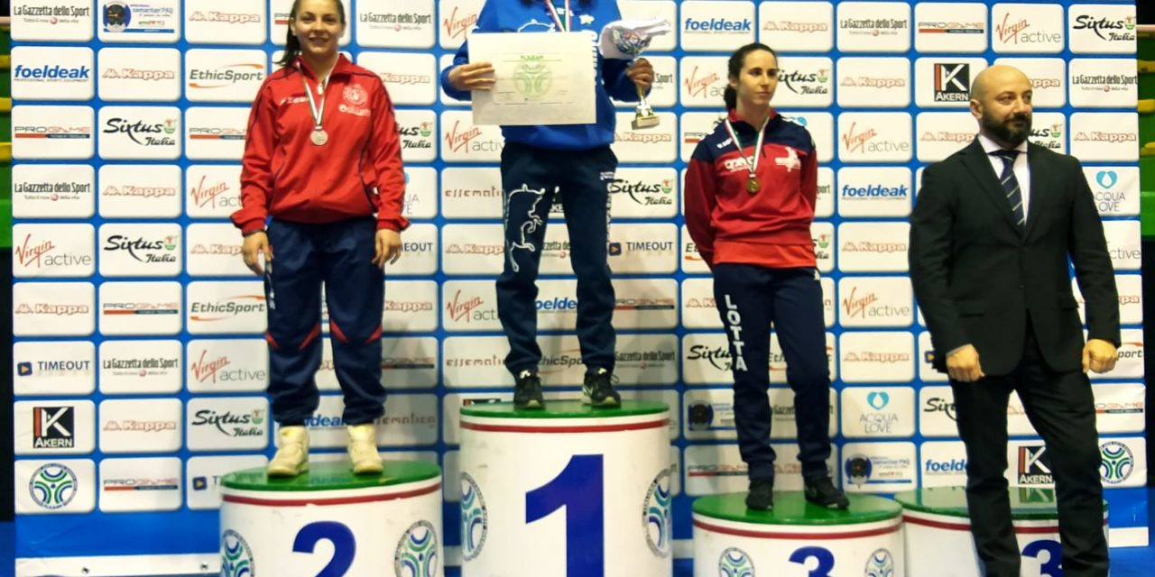 "Lotta femminile, due medaglie per la ""Usil girl"""