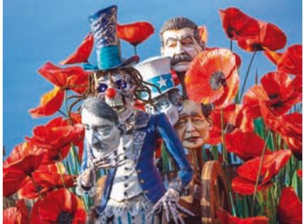 Viareggio, il Carnevale si fa in cinque