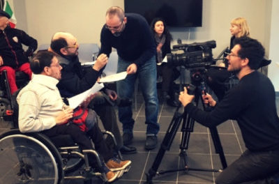 I ragazzi con disabilità sperimentano il cinema