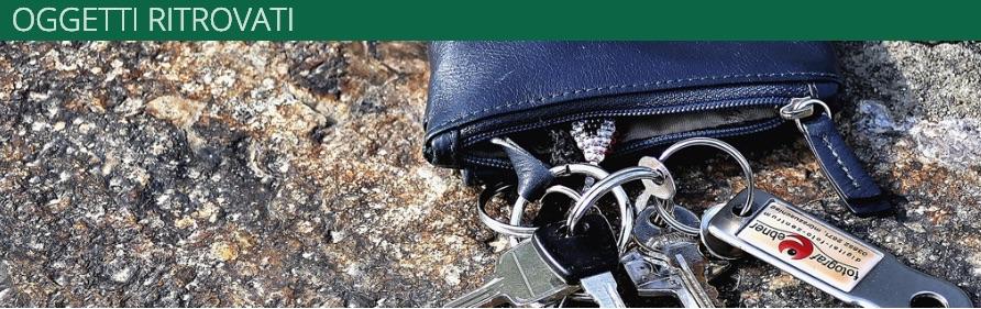 Oggetti ritrovati, una pagina web in sinergia con Comune, Polizia e Carabinieri