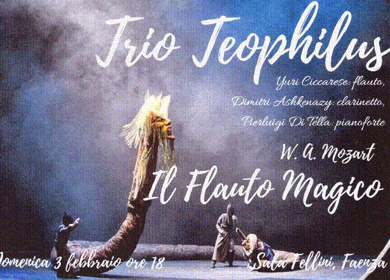 """""""Il flauto magico"""" con il trio Teophilus"""