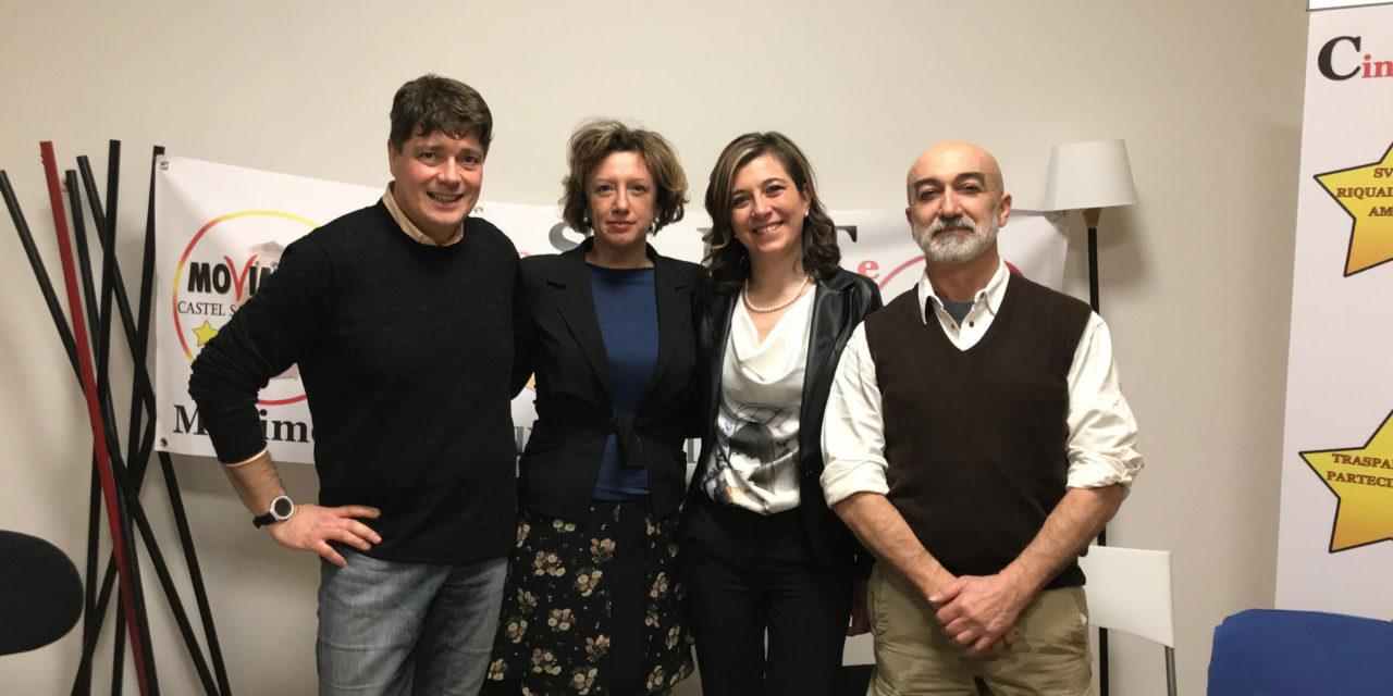 Elisa Maurizzi candidata a sindaco del M5s sotto il Cassero