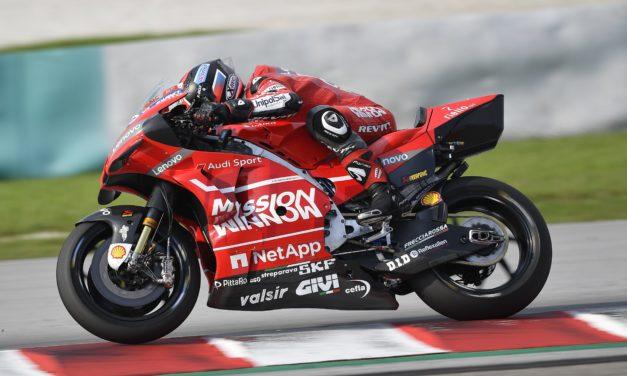 Il marchio Cefla sulla Ducati di Dovizioso nel Mondiale MotoGp