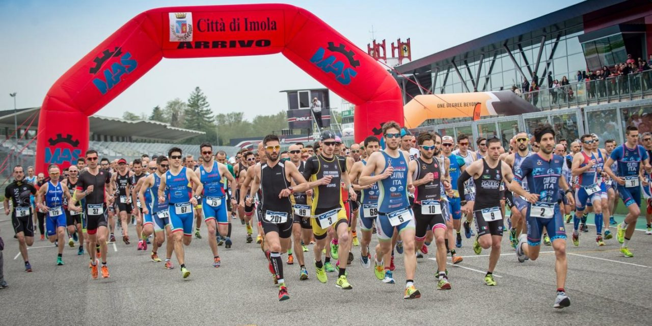 Campionati regionali di Duathlon, in pista atleti di corsa e in bicicletta