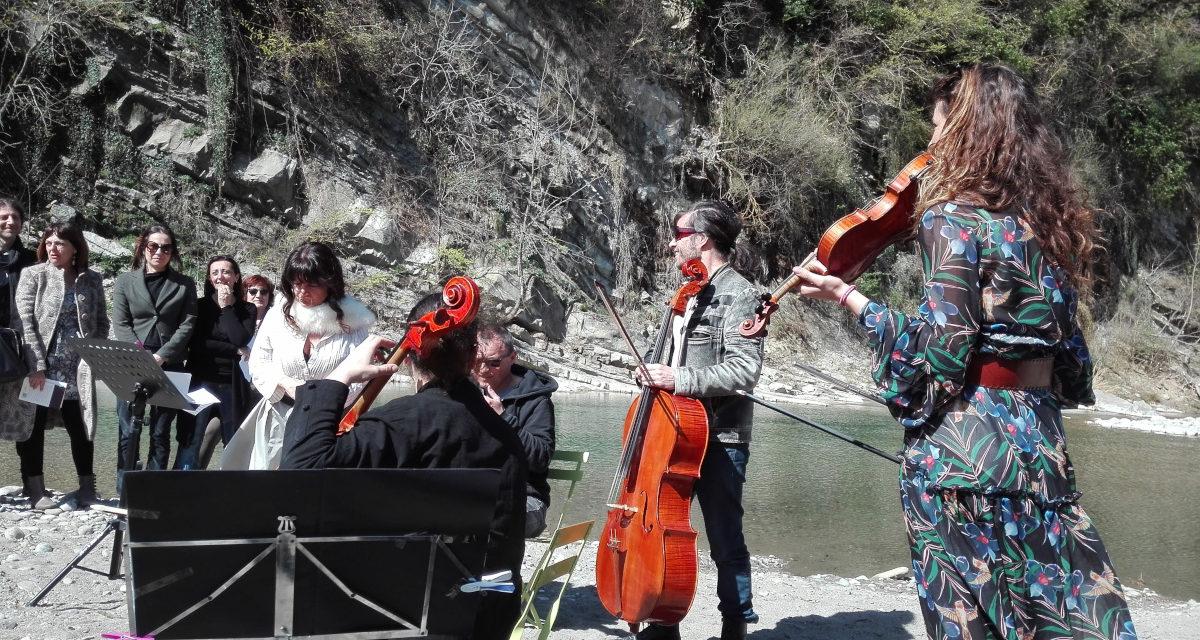 Mobilitazione in musica per difendere l'ecosistema del Santerno