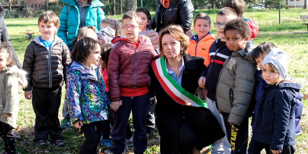 """""""Parco dell'Amicizia"""", la sindaca plaude ai bimbi; le altre iniziative"""