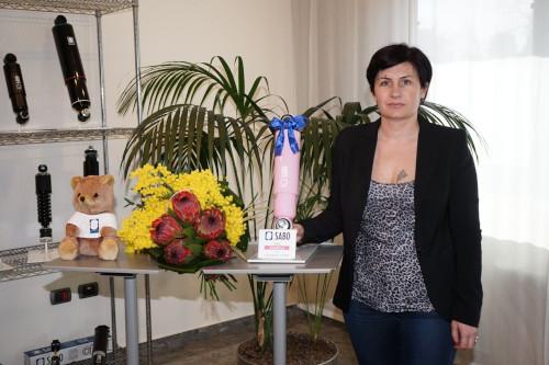 Alessandra Lucaroni da Monterotondo vince il Sabo Rosa