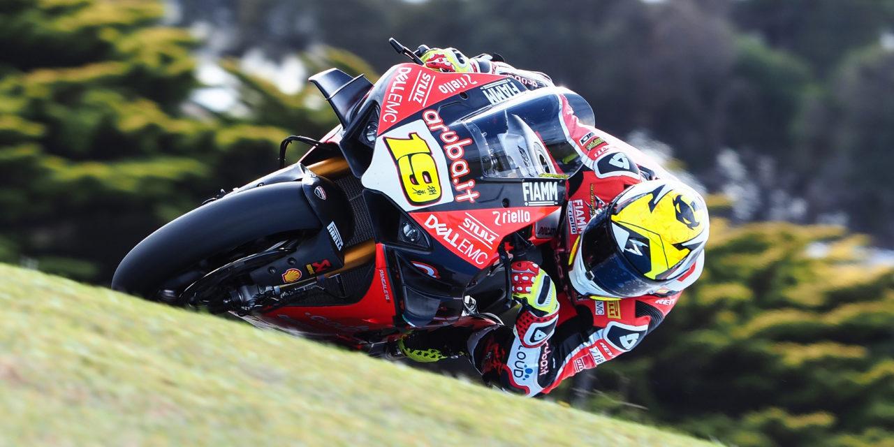 Ducati con Bautista, prove in autodromo in vista delle Superbike