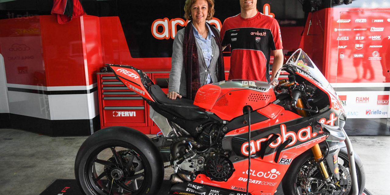Superbike, la sindaca dà il benvenuto ai campioni della Ducati