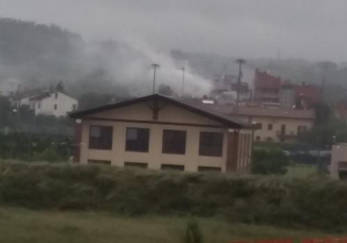 Incendio a Imola, a fuoco una palazzina in via Punta