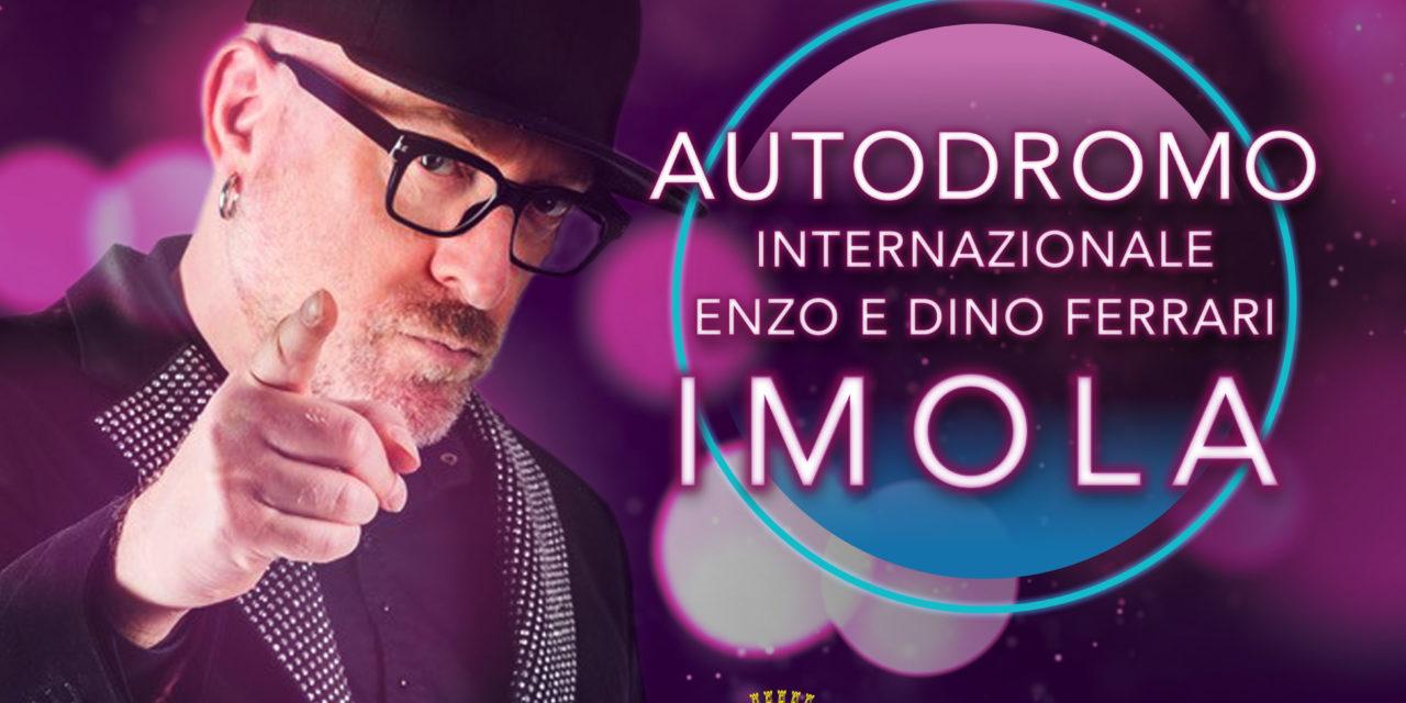 Mario Biondi, fra festival internazionali, canta anche all'autodromo