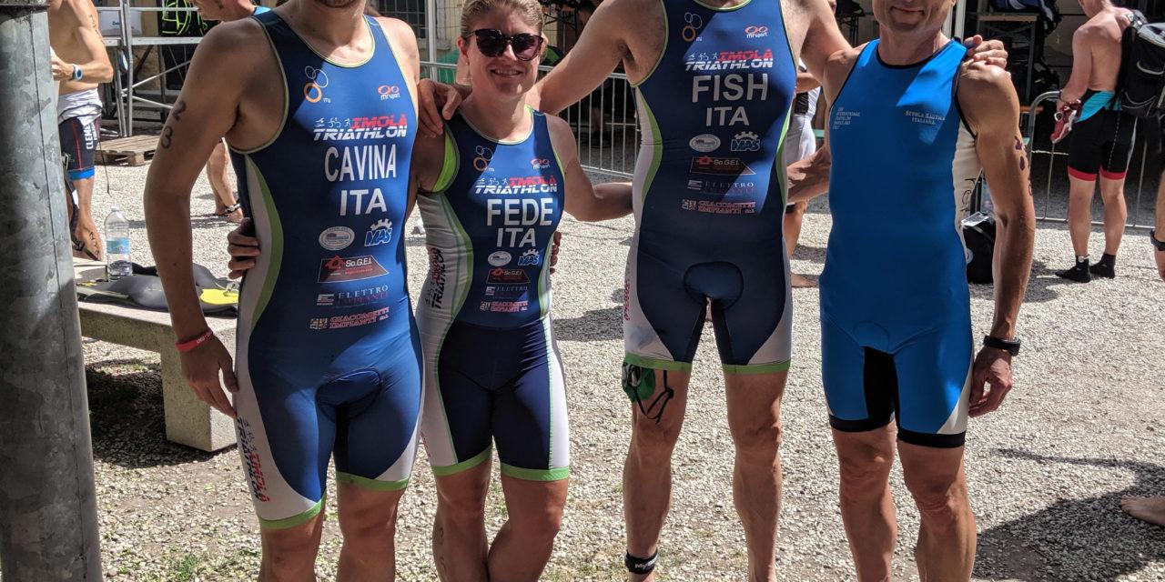 Triathlon Internazionale di Bardolino, discreto risultato per gli imolesi