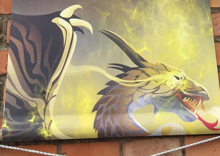 A Dozza… arrivano i draghi!