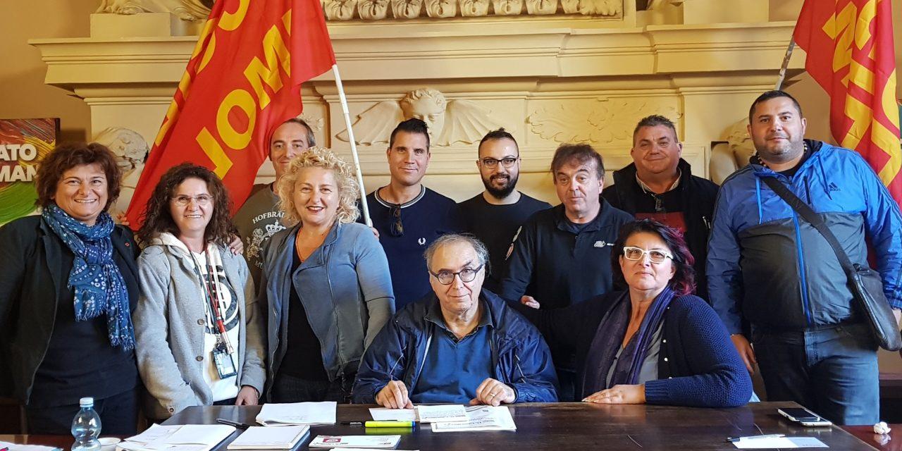 Dino Parrella nuovo segretario Filt Cgil Imola