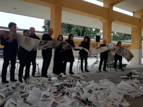 """""""Il pane e le rose"""", performance teatrale alla """"Fiera agricola del Santerno"""""""