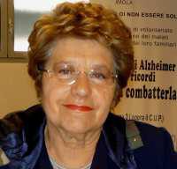 La sindaca Sangiorgi ricorda Bona Sandrini, presidente dell'associazione Alzheimer