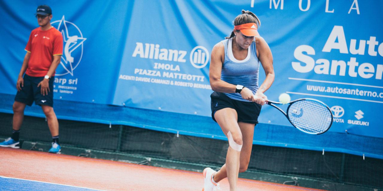 Internazionali femminili di tennis, fuori subito la Scala, bene la Giovine