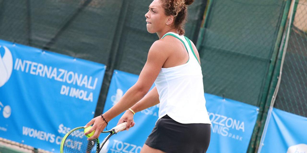 Internazionali di tennis femminili, Rubini vince all'esordio, ottima la Giovine