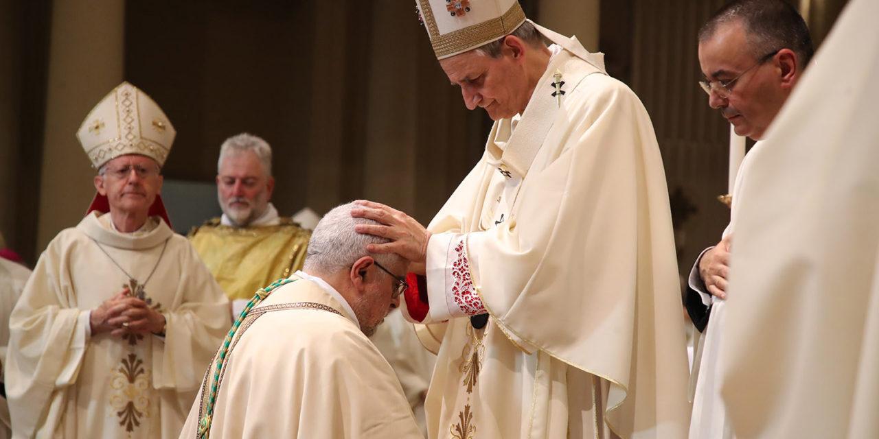 """L'arcivescovo Zuppi al nuovo Vescovo Mosciatti: """"Il Vangelo sia la tua tromba"""""""