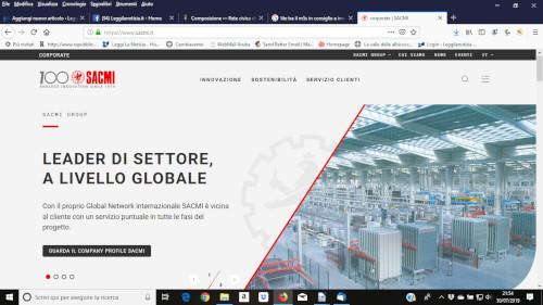 Online il nuovo portale del Gruppo Sacmi