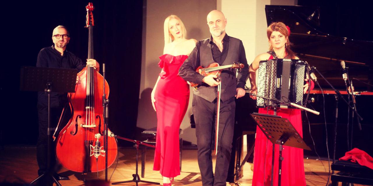 Tributo ad Astor Piazzolla da parte del Mirada de Tango Quartet
