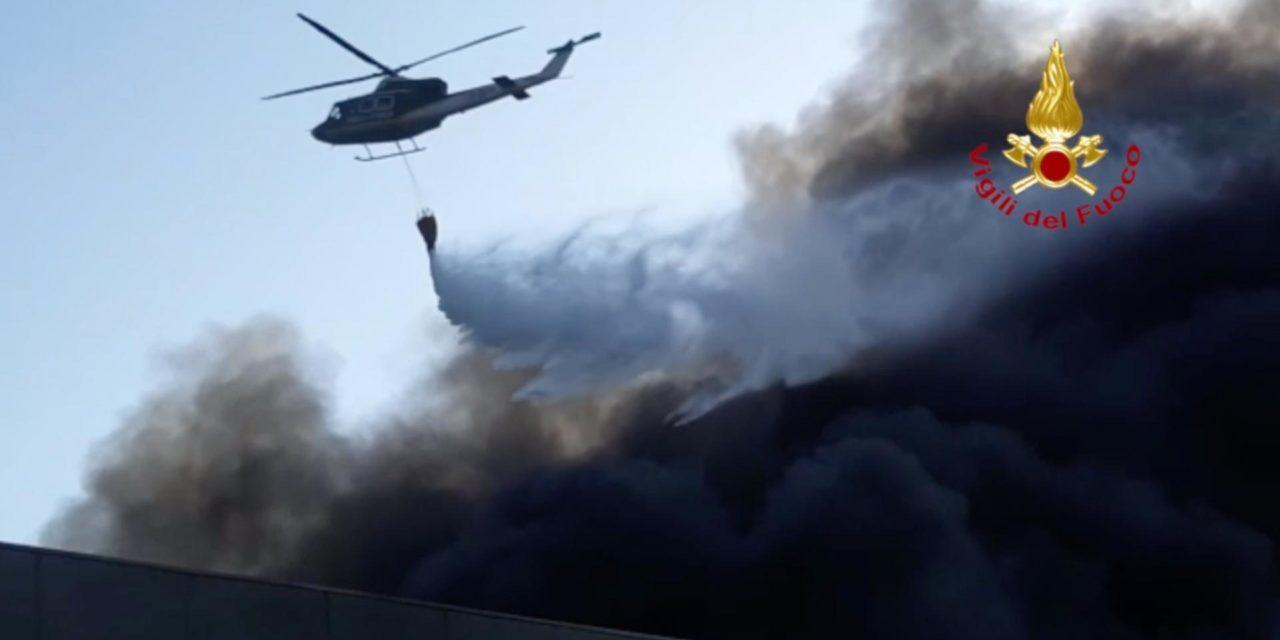 Incendio alla Lotras System di Faenza, non ancora diffusi i dati sulle diossine