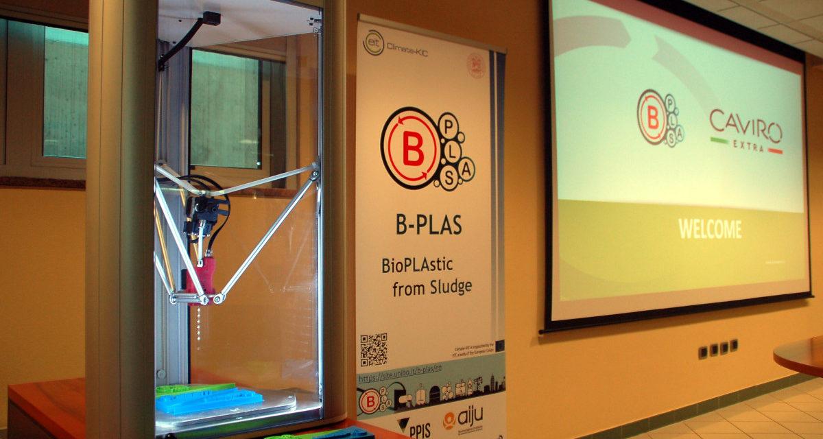 Caviro Extra e Università: bioplastica dai fanghi di depurazione