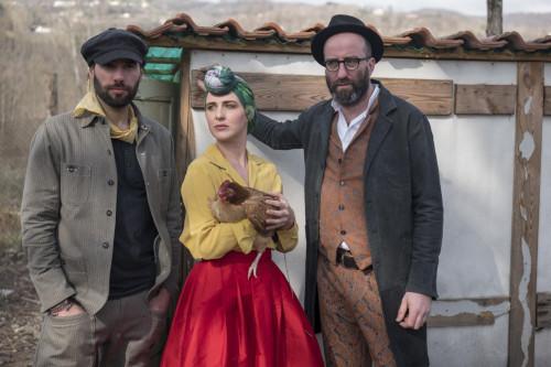 Emma Morton & the Graces a Modigliana