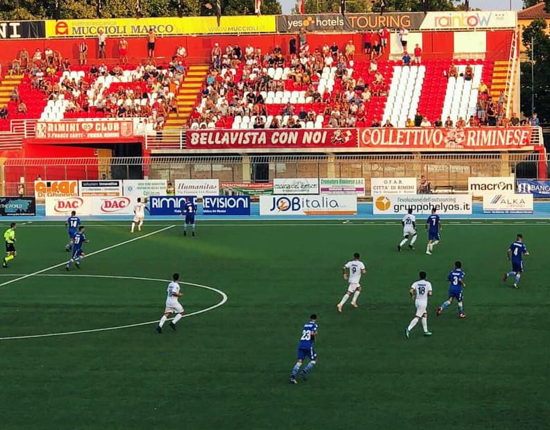 Campionato Lega Pro: l'Imolese stecca la prima, perde con il Rimini