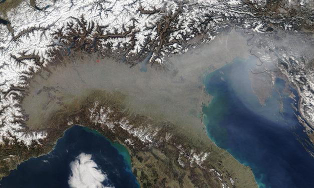 Ozono, critica la situazione in tutta la regione