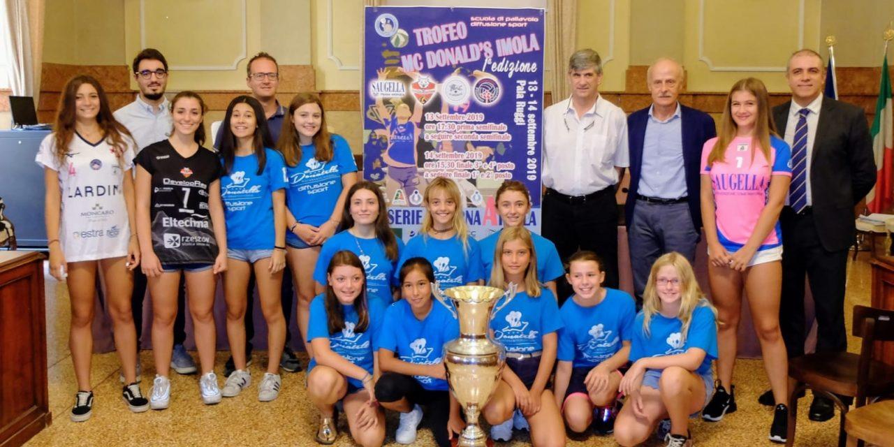 Diffusione Sport porta un torneo di volley femminile di serie A al Ruggi