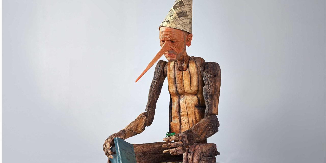 Pinocchio saluta la biblioteca con una conferenza del prof. Bazzocchi