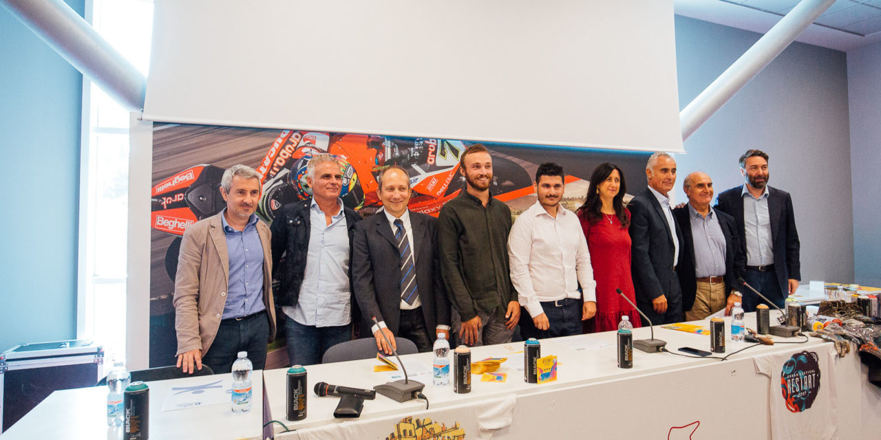 RestArt-Urban Festival all'autodromo, un brasiliano raffigurerà Senna