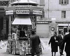 """C'ERA UNA VOLTA: """"L'edicola di piazza Caduti della Libertà a Imola"""""""