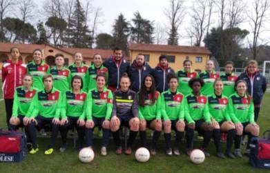 Pronta alla partenza l'Imolese calcio femminile
