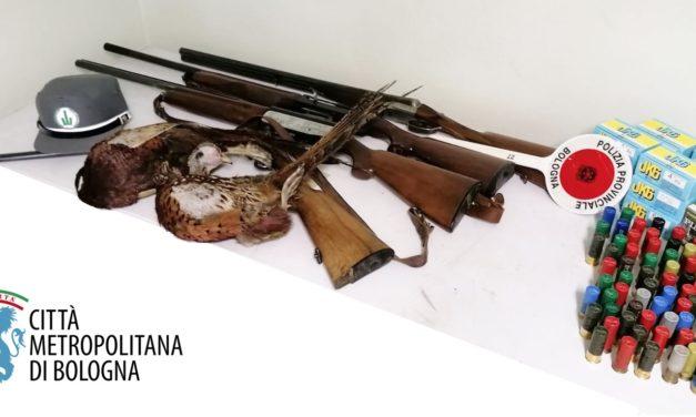 Denuncia e sequestro di armi e selvaggina a Casalfiumanese, cacciatore sorpreso dalla Polizia locale