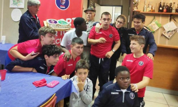 Festa e partita di calcio con giovani disabili, in campo pure il sindaco Tinti