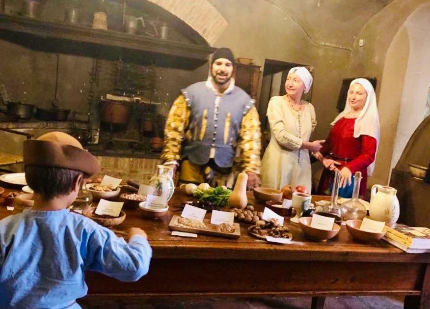 La Rocca rivive scene di vita quotidiana fra Medioevo e Rinascimento
