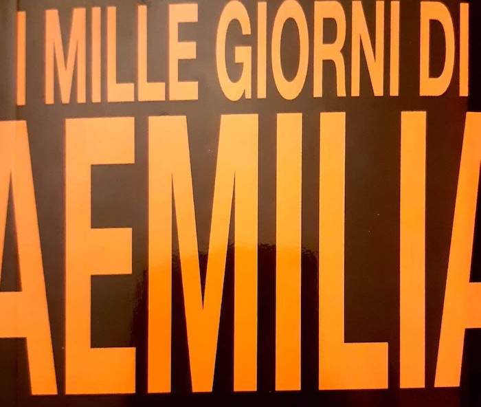 """Tiziano Soresina presenta il suo libro """"I mille giorni di Aemilia"""""""