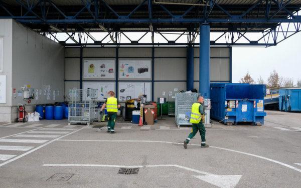 Imola, lavori di manutenzione alla stazione ecologica
