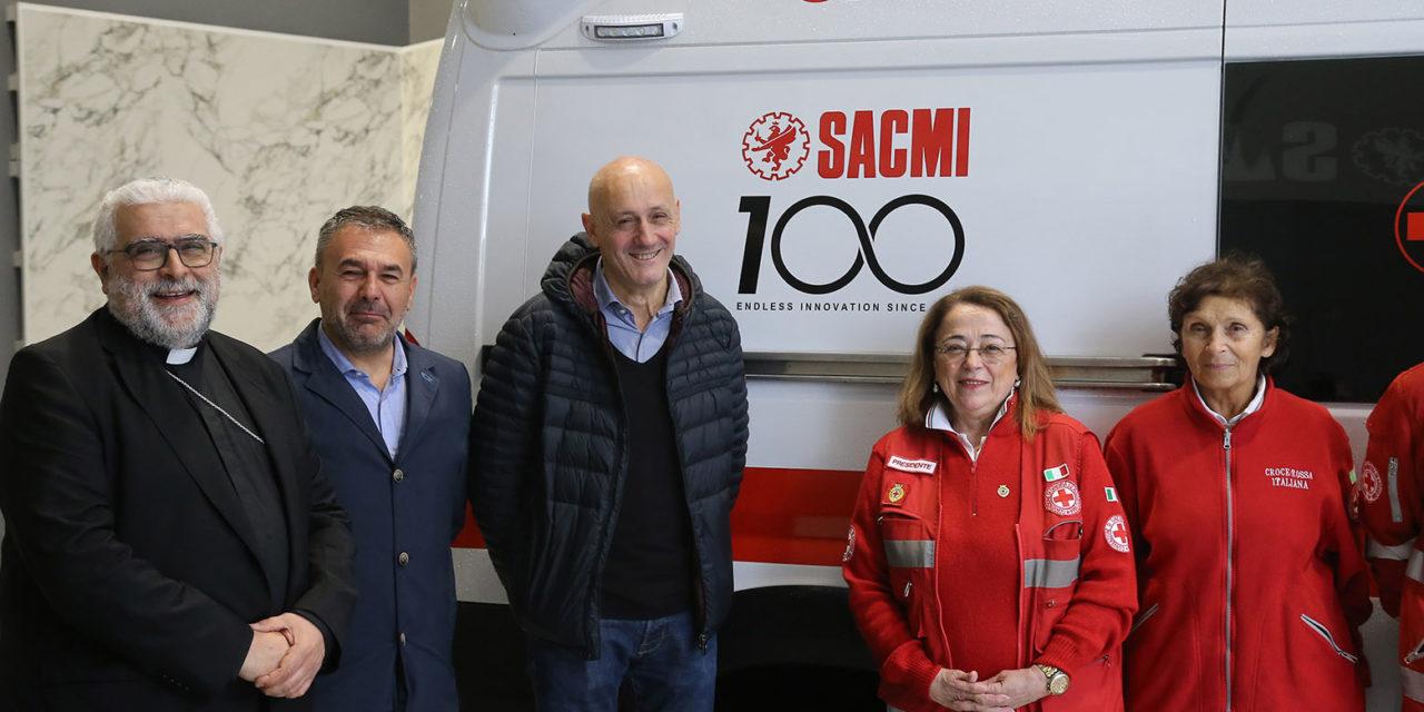 Sacmi dona una nuova ambulanza alla Croce Rossa di Imola