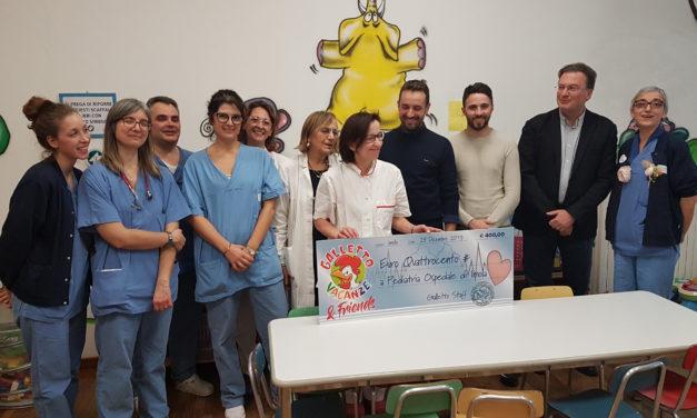 """Donazione da parte del centro """"Il Galletto"""" al reparto di Pediatria e Nido"""
