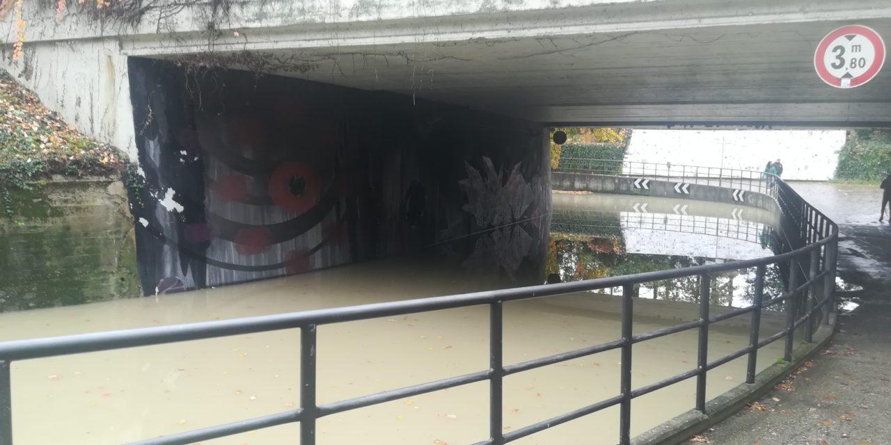 Maltempo, 7 persone evacuate a San Prospero, rimandata Imolese-Triestina