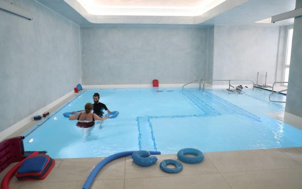 A Montecatone terapie riabilitative in acqua anche per gli utenti esterni