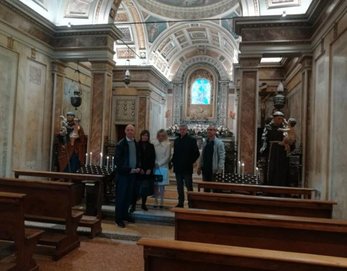 Altri interventi di restauro al Santuario della Beata Vergine delle Grazie