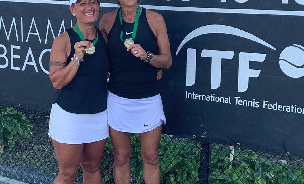 Tennis Campionati Mondiali over 45, la Sanna porta a casa un bronzo in doppio