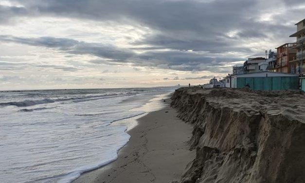 Maltempo: allagamenti nel ravennate, Bellaria perde la spiaggia